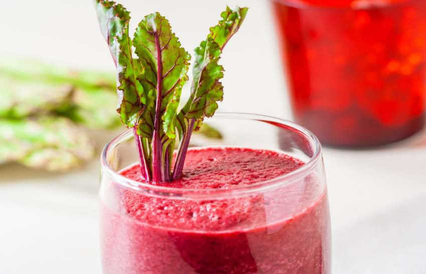 Beetroot and kale